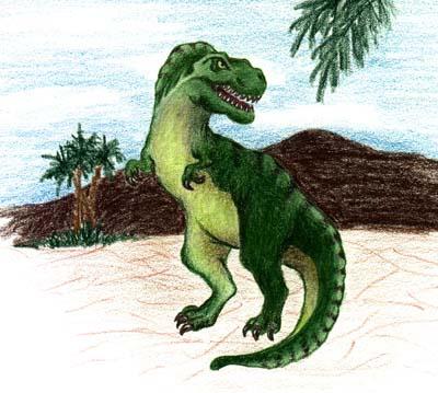 T. Rex tyrannosaurus rex dinosaur